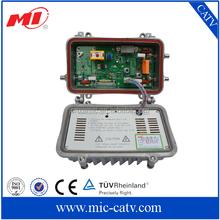 47~862MHz outdoor Bi-directional trunk amplificador catv