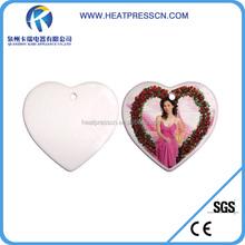 christmas decor for sublimation heart shape