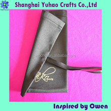 Satin drawstring&embroidered shoe bag shoes pouches for travel