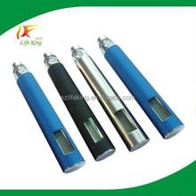 special design big battery e cigarette Smart ego LCD display system big ego lcd battery e cigarette