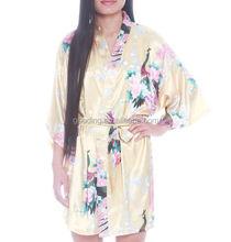 Oem 2015 das mulheres por atacado Super crianças de pelúcia kimono robe