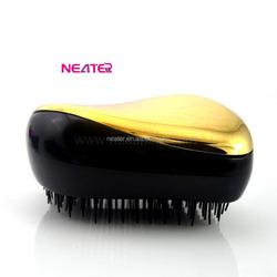 Round hairbrush,crystal plastic hair comb,mirror work kurti,magic hair brush