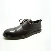 black color lace up low heel 2015 wholesale genuine cow leather men dress shoes
