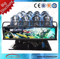 cinema 4d seats home theater system cabinet 7d Arcade Shooting Game