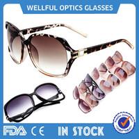 2015 women fashion style big round UV400 colorful aviator silhouette sunglasses