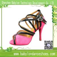 2015 Babylon Dance shoes manufacturers china,ladies sasan suede dance shoes pink