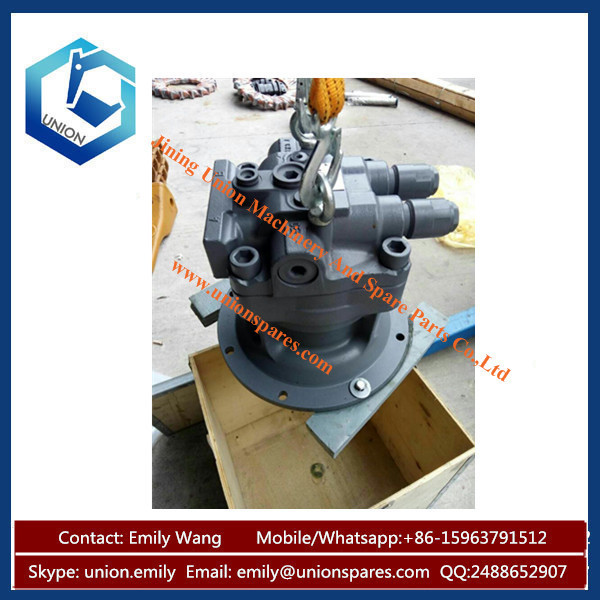 Genuine quality mini excavator swing motor m5x180 slewing for Swing stage motors sale