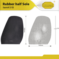 51B Half soles for shoe repair,made by High quality Rubber. New Design, Close to Vibram