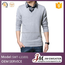 Cheap Wholesale Bulk Clothing Mens Knitted Wool Sweater