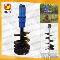 rc excavator hydraulic earth auger