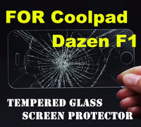 2.5D high quality Whole transparency oleophobic reusable cell phone glass for Coolpad Dazen F1