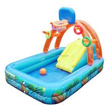 wholesale basketball inflatable slide swimming pool