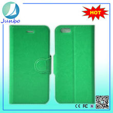 Original custom leather flip cover wallet cases for phones for iphone 6