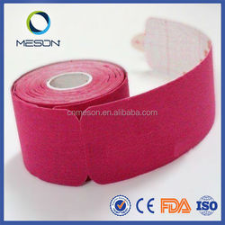 Free sample kinesiology therapy sports cure mixed creative color physiotherapy kinesiology orthopedic tape