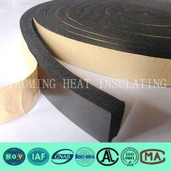 heat insulation self adhesive rubber foam tape