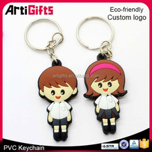 Promotional 3d pvc key chain