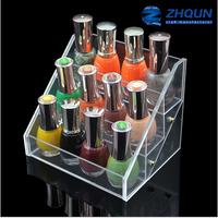 12 bottles custom acrylic make up organizer for nail polish