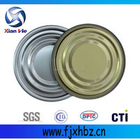 tinplate easy open ends food grade,steel can cover