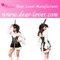 venta al por mayor profesional de lujo para mujer traje de pirata