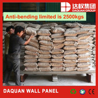 Wuhan Daquan Solid Light Weight Easy Installing Precast EPS Cement Sandwich Panels