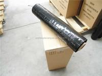 linear low density Polyethylene film 1.5m pe stretch film roll black color film