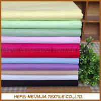 100% cotton various color poplin fabric plain cloth