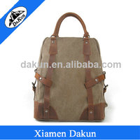 15 inch laptop and tablet backpack canvas laptop bag