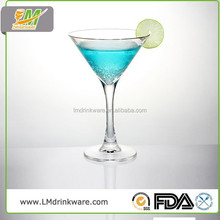 Customized Good Quality transparent polycarbonate cocktail glass martini