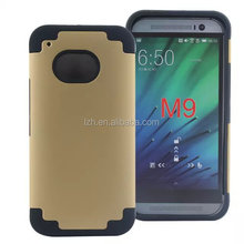 Hybrid shockproof Mobile Phone Case for HTC one M9