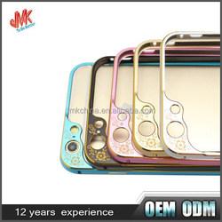 Factory bulk protective mobile phone frame metal bumper case aluminum cell phone case