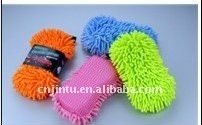 Cleaning tool chenille and Figure eight car sponge