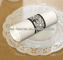 table/party decoration/banquet use paper napkin ring