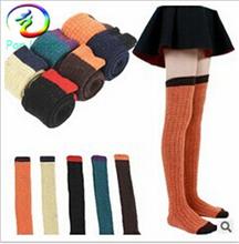 Top quality women knee high socks comfortable overknee stocking