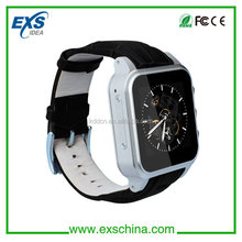 micro sim card smart watch with bluetooth/gps/wifi/3mp camera, best quality smartwatch in the market
