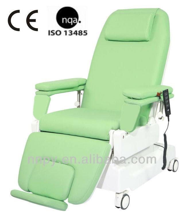 Hospital de coleta de sangue cadeira