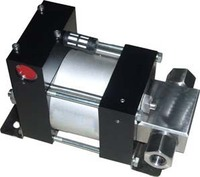 model High pressure Pneumatic driven gas booster Wellna WS9 natural gas booster pump