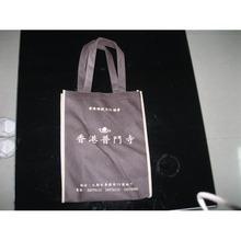 Reusable fashion non-woven bag/green wholesale non-woven fabric bag/cheap die cut handle bag