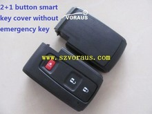 Toyota 2+1 button smart key cover without emergency key