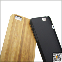 For iphone 6 bamboo wood cell phone case, low moq phone case for iphone 6