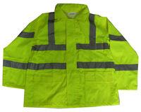 reflective fire retardant rain coat