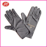 Microfiber China wholesale Glasses Exhibition hand gloves M size
