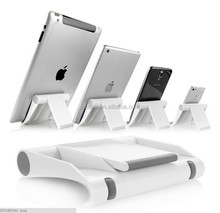Hard pc 360 degree rotate holder for tablet , display phone desk stand