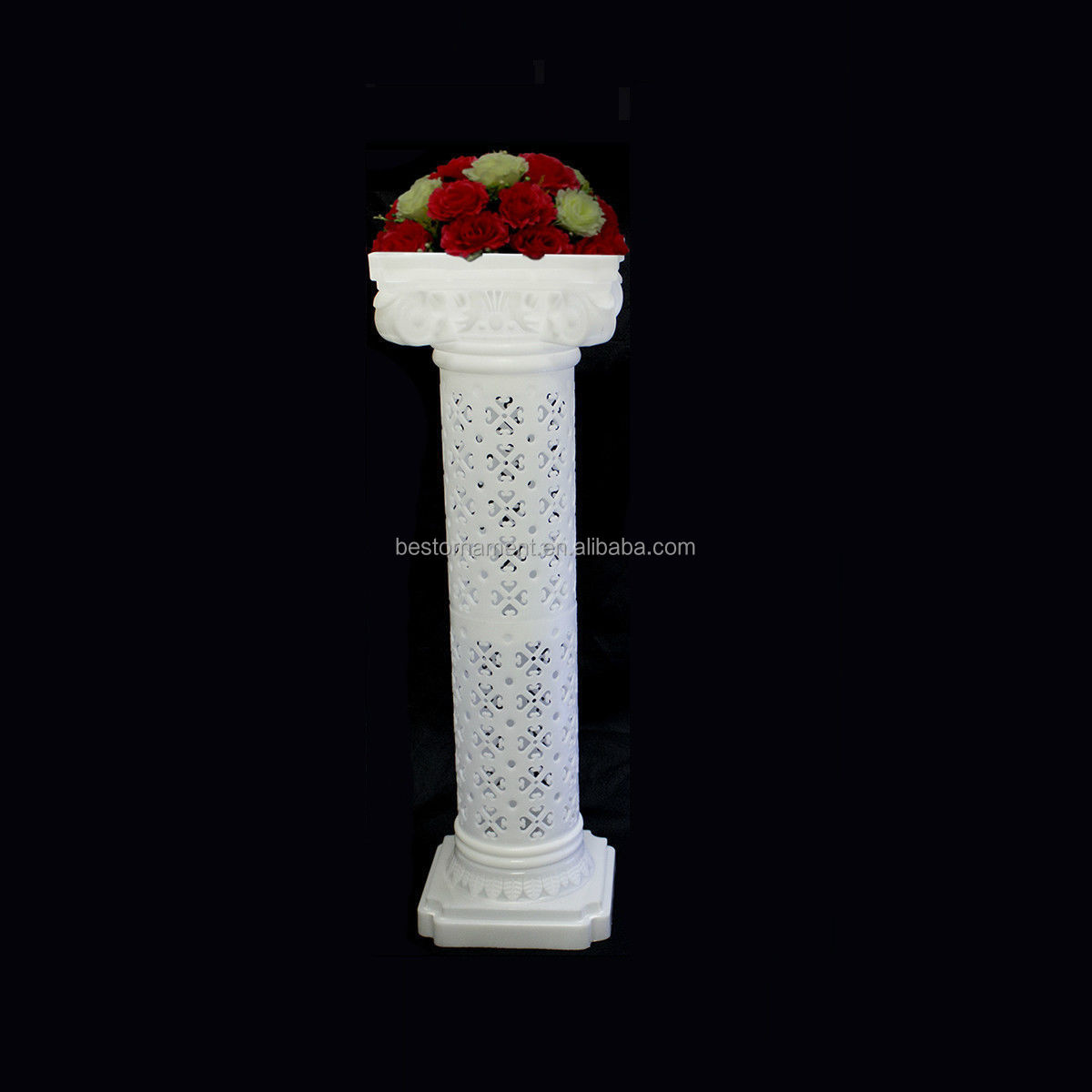 Wedding decorative plastic roman column view wholesale for Decorative columns