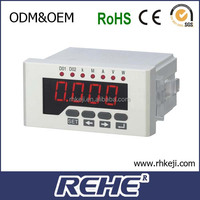 3 phase digital panel mount power active and reactive kw w var 100V electric electrical electricity meter RH-3P4Y