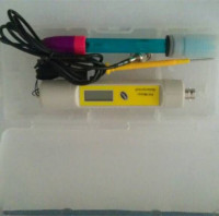 Free Shipping/ph probe tester/pen sensor meter/ digital waterproof ph/ph-281A