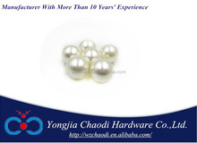 9mm round bead ivory white pearl for garment, necklace DIY decoration bead to make jewelry PB-1