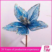 Fashion and cheap christmas party custom decoration Christmas ornament flower