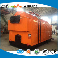 dzh cheap factory commercial boiler price solid fuel fuel hand boiler wood coal charcoal boiler