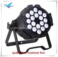 Free shipping (1 piece) 18x10w rgbw 4in1 led par light, par led
