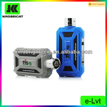 Unique design mechanical mod e cig e-lvt kit